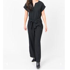 NWOT Suit Yourself Jumpsuit in Black